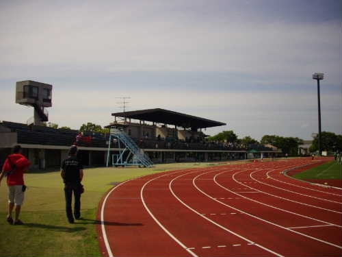 成田市中台運動公園陸上競技場