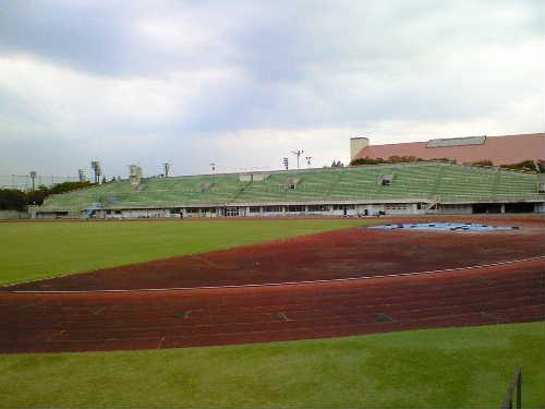 太田市運動公園陸上競技場